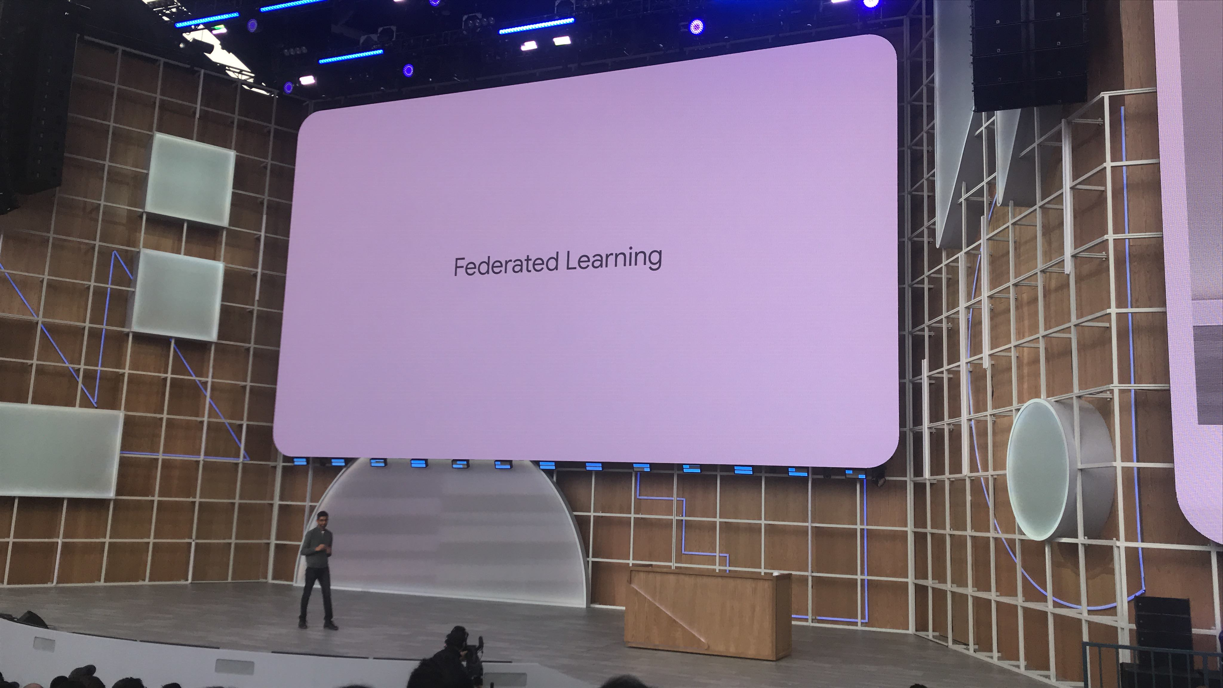 Federated Learning에 대해서 이야기를 꺼내는 순다 피차이